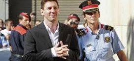Lionel Messi dënohet me 21 muaj burgim në Spanjë